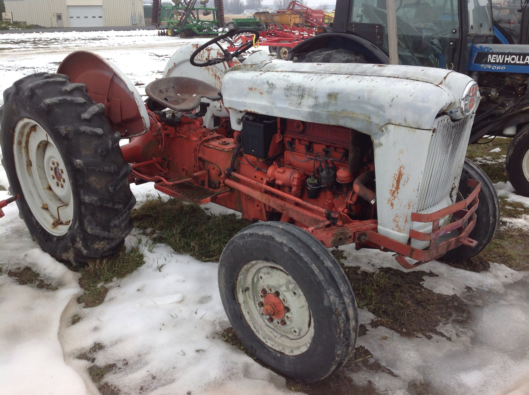 1956 Ford Tractor : Ford tractors utility hp john deere