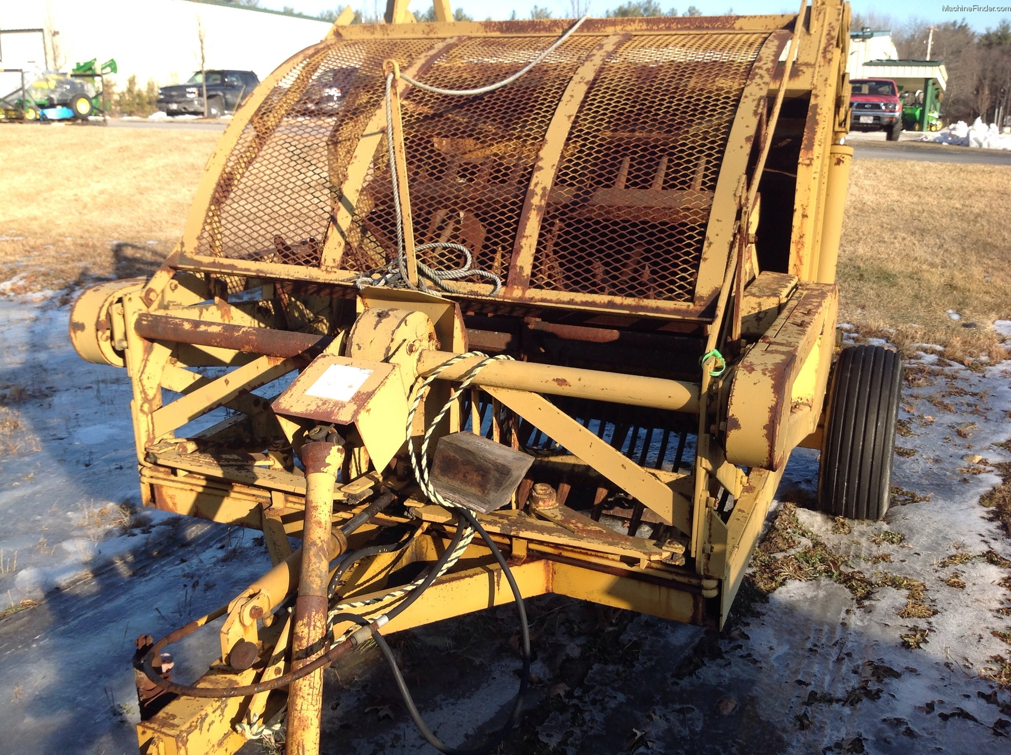 Rock Picking Machines : Anderson rock picker miscellaneous john deere machinefinder