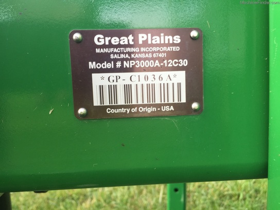 Great Plains NP3000A-12c30