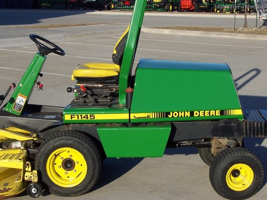 2000 John Deere F1145 Front Mower 4wd W Roll Gard And 72 Quot Deck