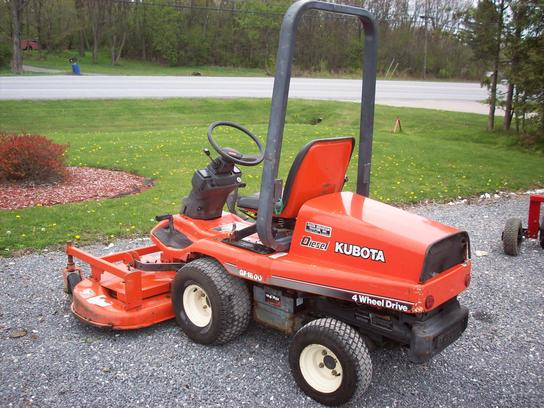 Kubota Gf1800 Mower Deck Parts : Kubota gf lawn garden and commercial mowing