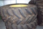 Goodyear 18.4x26 DUALS. GOODYEAR AND FIRESTONE