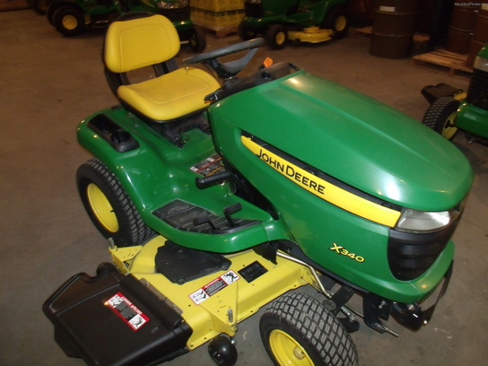 2008 John Deere X340 Lawn Amp Garden And Commercial Mowing