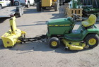 1995 John Deere LX188 WITH SNOWTHROWER