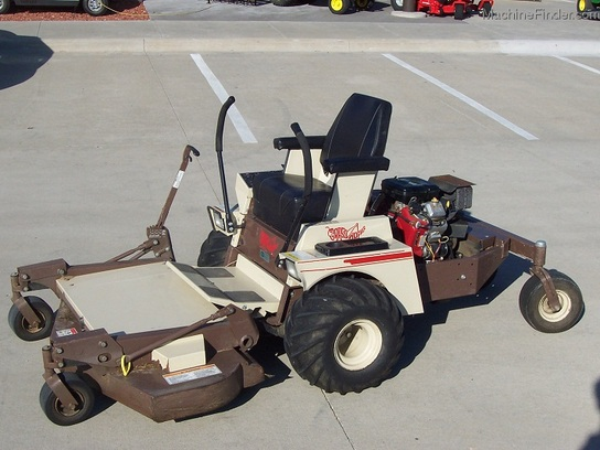 "2004 Grasshopper Model 718 Front-Mount Zero-Turn Mower with 50"" cut"
