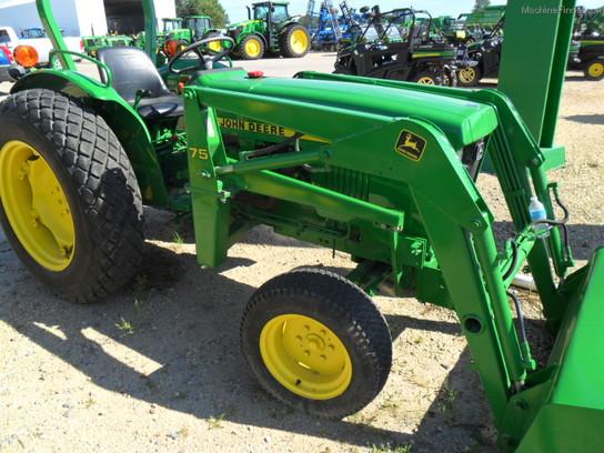 John Deere 950 Tractor Seat : John deere tractors compact hp