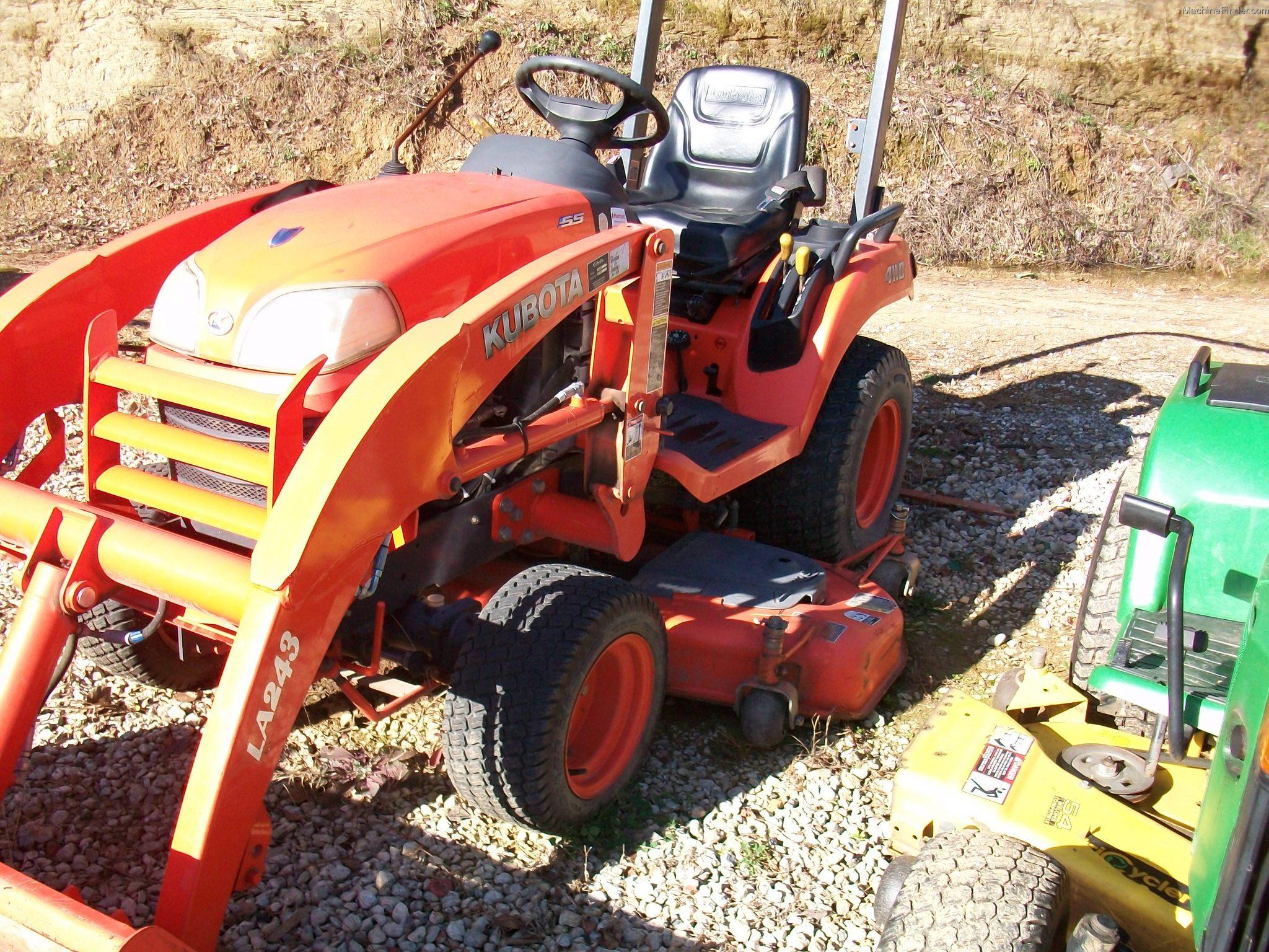 Kubota Belly Mower Parts : Kubota bx tractors compact hp john deere