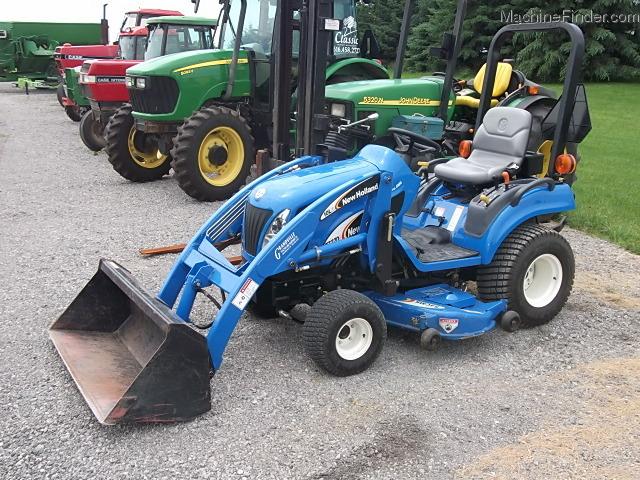 New Holland Compact Tractors Parts : New holland tz da tractors compact hp
