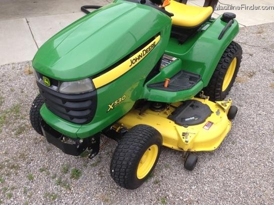 John Deere X530 Lawn Tractor : John deere lawn garden and commercial mowing