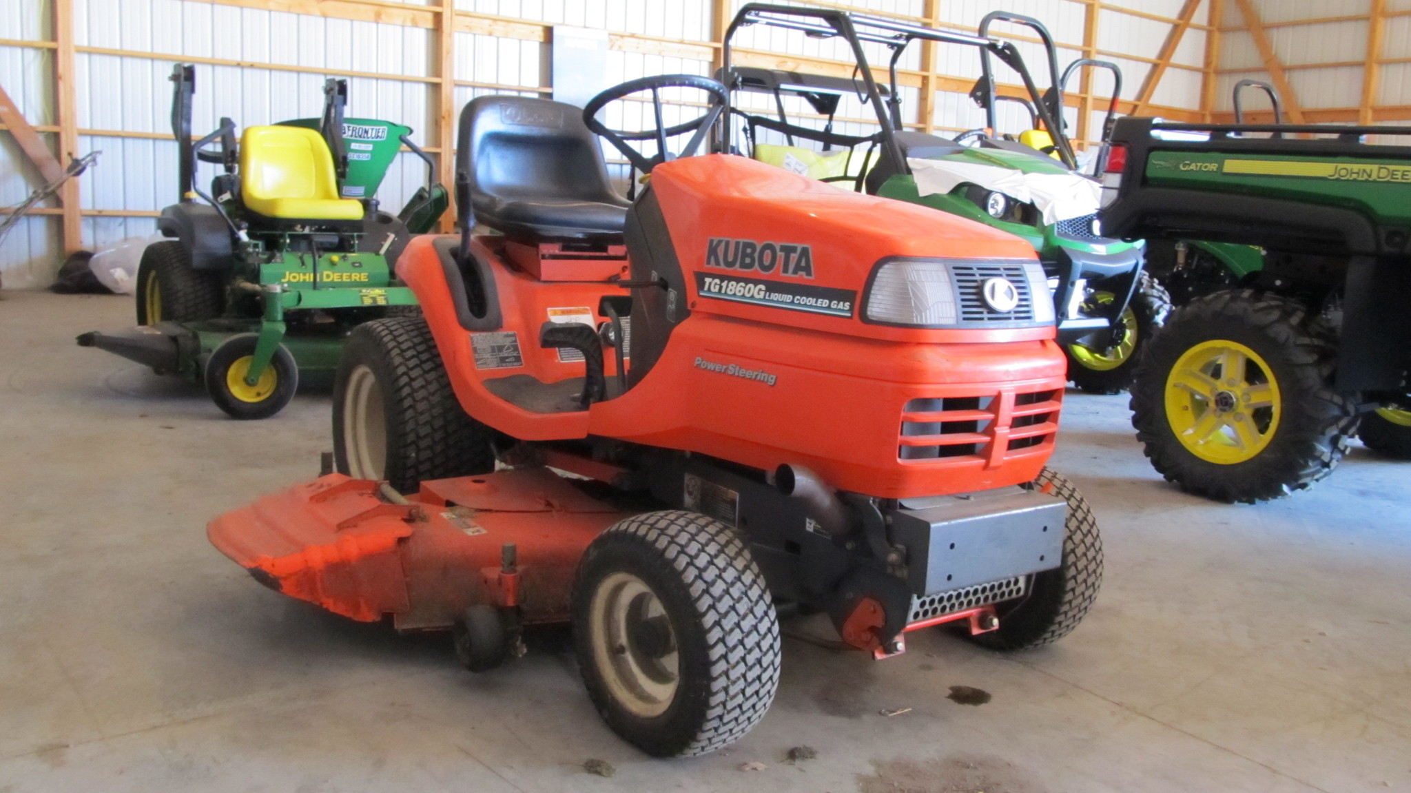 Kubota tg1860g lawn garden tractors for sale 64953 for Garden machinery for sale