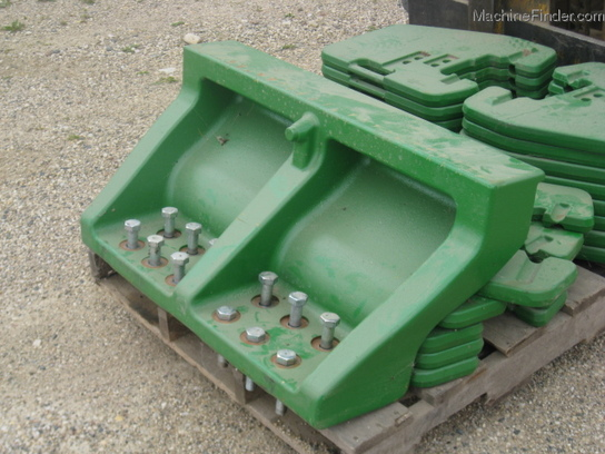 2010 John Deere R245579 WEIGHT BRACKET