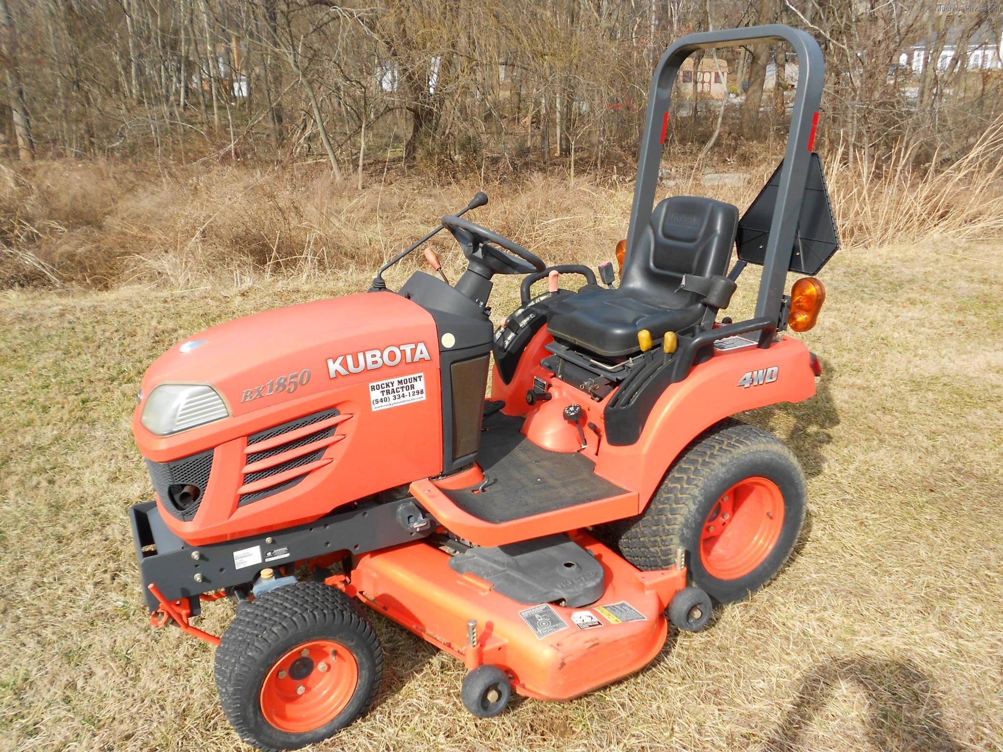 Kubota Bx1850 Tractors Compact 1 40hp John Deere