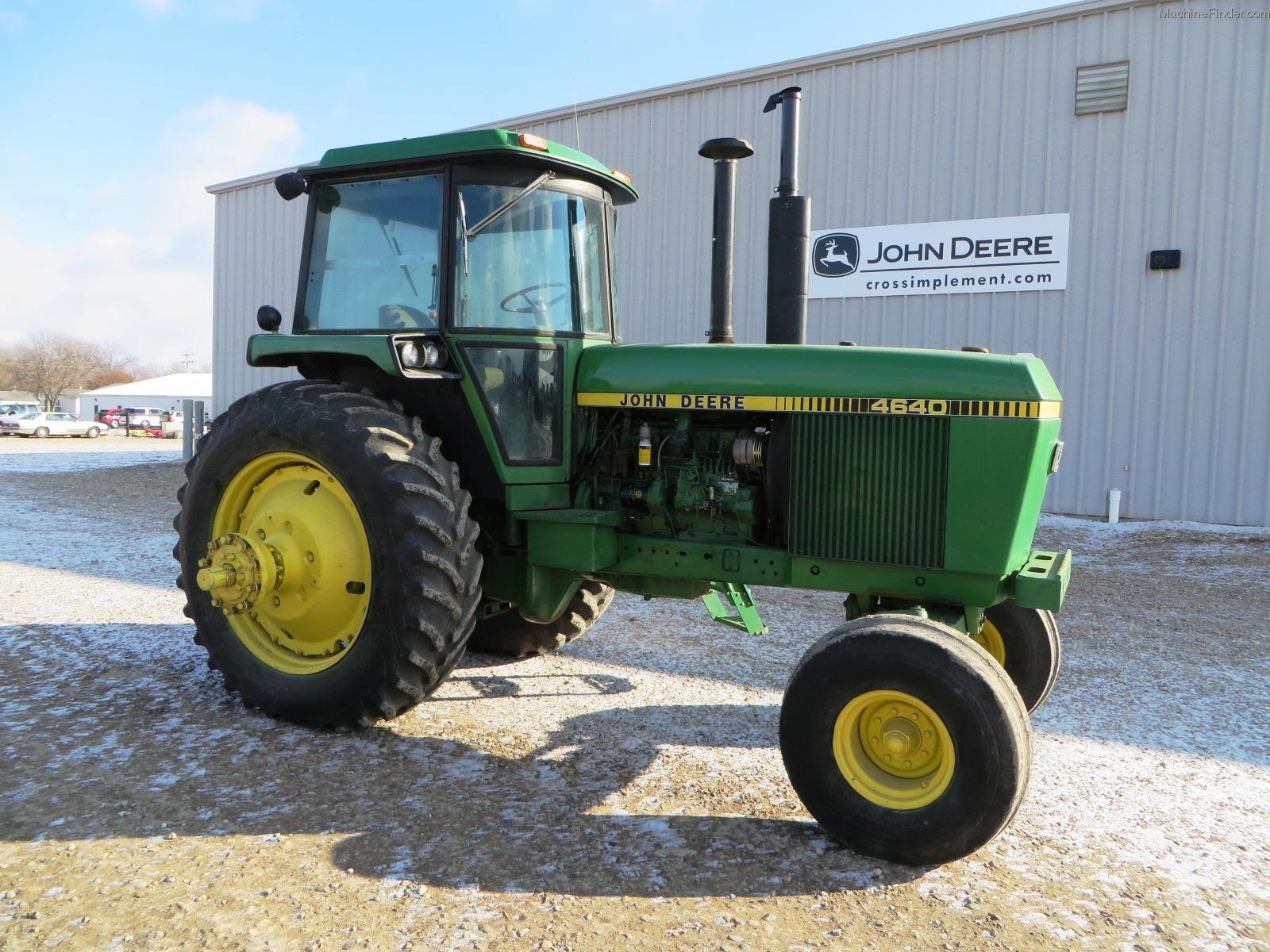 1978 John Deere 4640 Tractors - Row Crop   100hp
