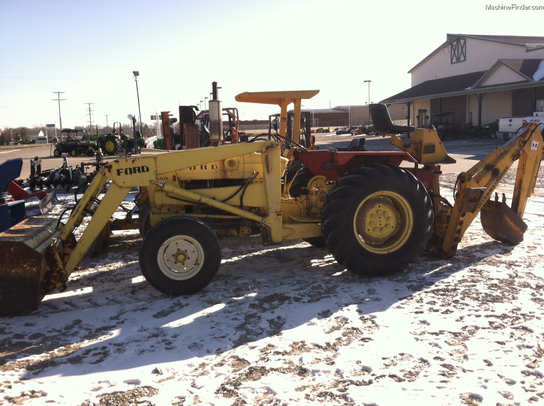 Ford 3550 Tractor : Ford tractor loader backhoes john deere machinefinder