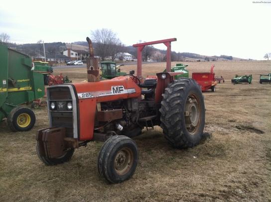 Massey Ferguson 285 Tractor Information : Massey ferguson tractors utility hp john