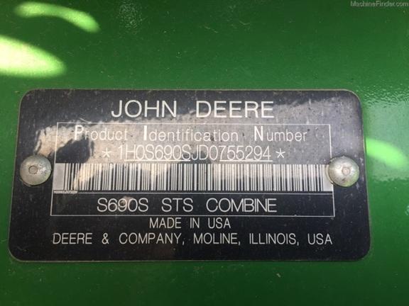 2013 John Deere S690