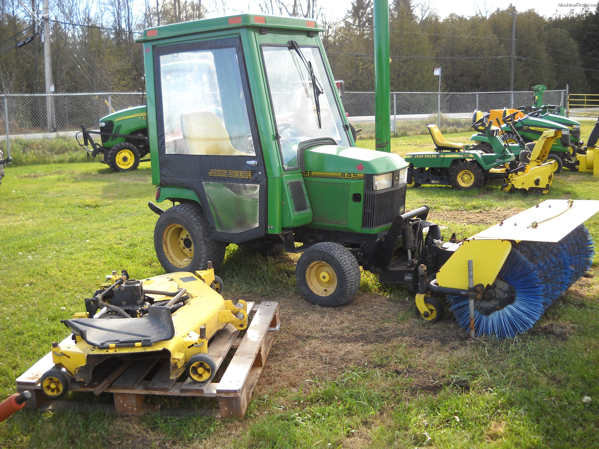 John Deere Lawn Tractor Enclosures : Cab to fit mytractorforum the friendliest