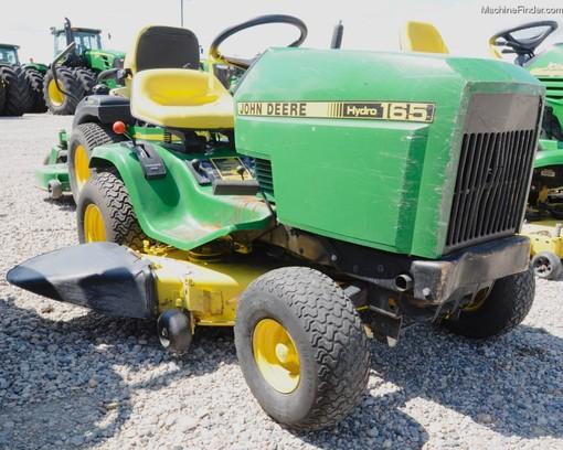 John Deere 165 Hydro Parts : John deere lawn garden and commercial mowing