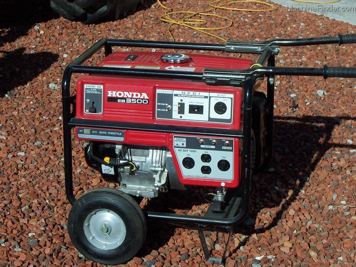 Marvelous 2002 Honda Honda EB3500 Generator   Miscellaneous Turf   John Deere  MachineFinder