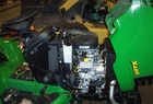 "2003 John Deere X485AWS L&G tractor with 54"" mower (MC519 Cart is extra)"