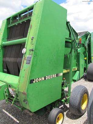 John deere 435 hay baler parts service manual pdf