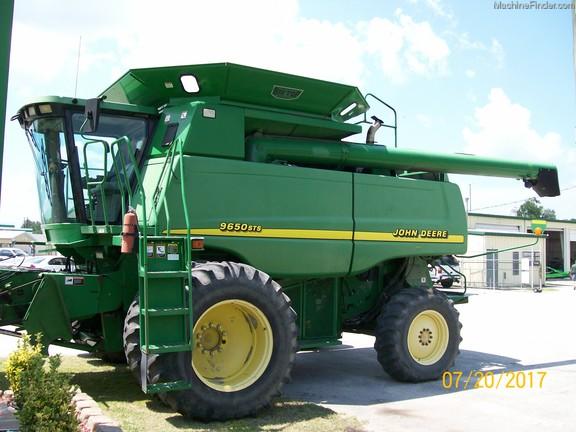 2000 John Deere 9650 Sts - Combines