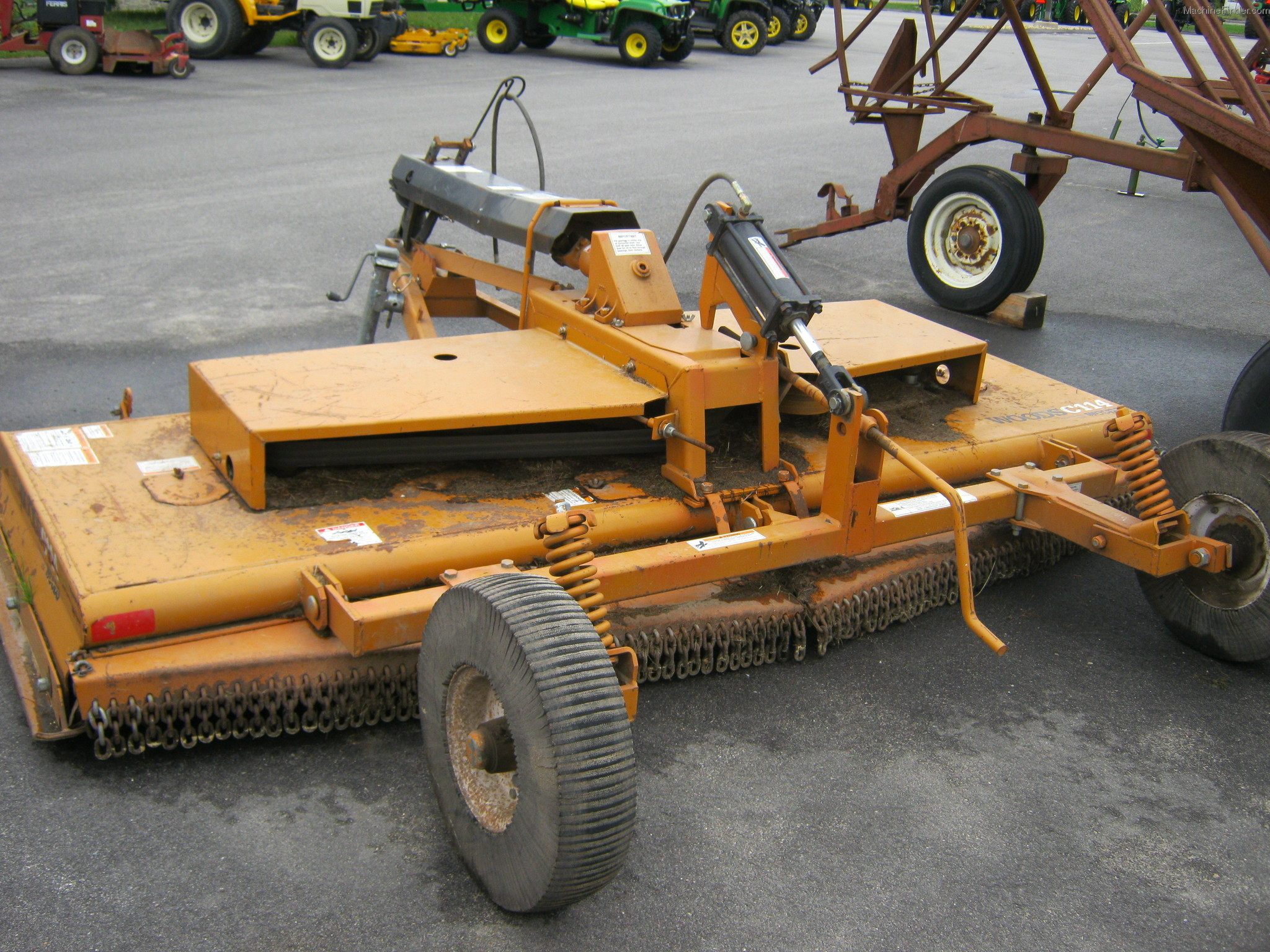 Woods Tractor Parts : Used farm agricultural equipment john deere machinefinder