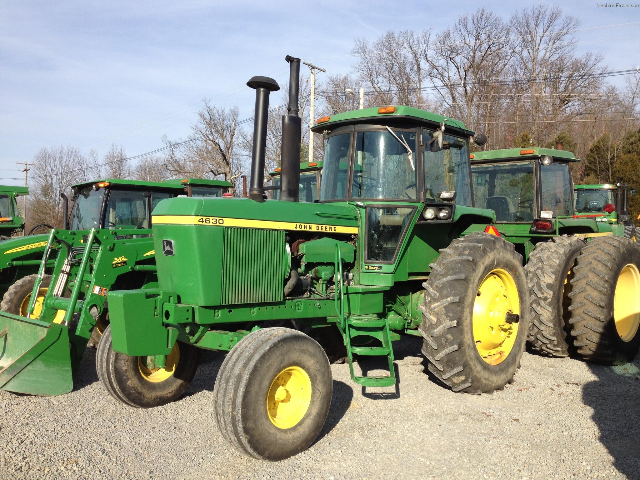 1974 John Deere 4630 Tractors - Row Crop (+100hp)