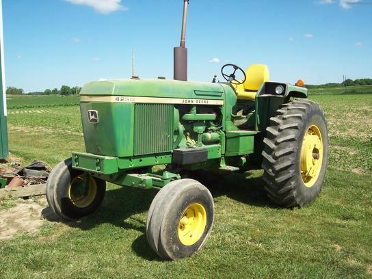 4230 John Deere : John deere tractors row crop hp