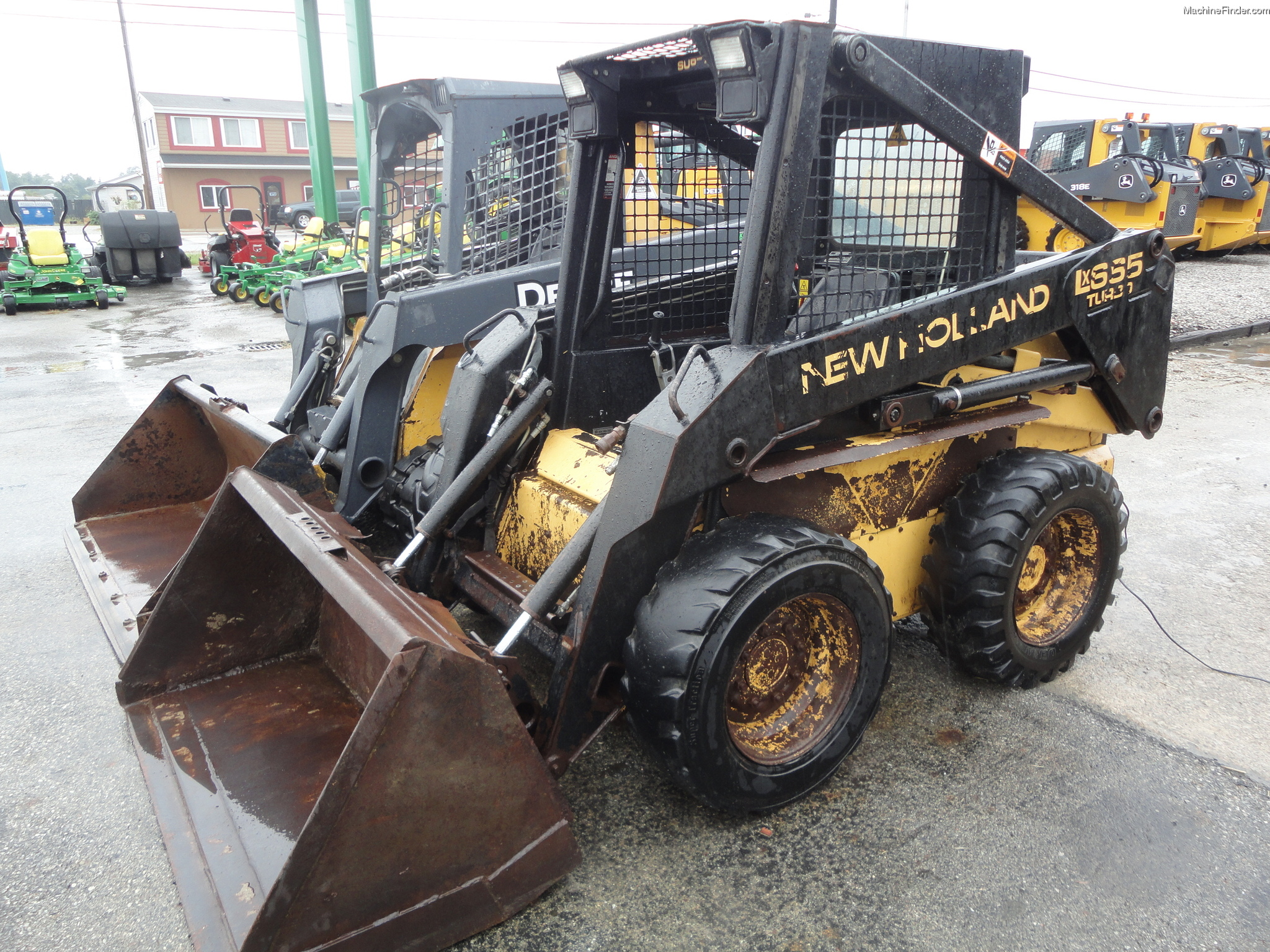 New Holland Lx665 Turbo Skid Steer Manual