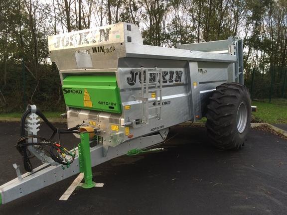 Joskin New Siroko S4010/9V 9 ton Muck Spreader
