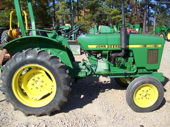 John Deere 850 Tractor Seat : John deere