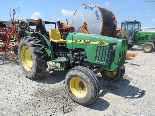Used John Deere 5105 : John deere tractors utility hp
