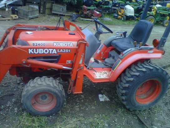 Kubota Tractor Tires R4 : Kubota b tractors compact hp john