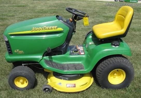 2002 John Deere Lt160 Lawn Amp Garden Tractors John