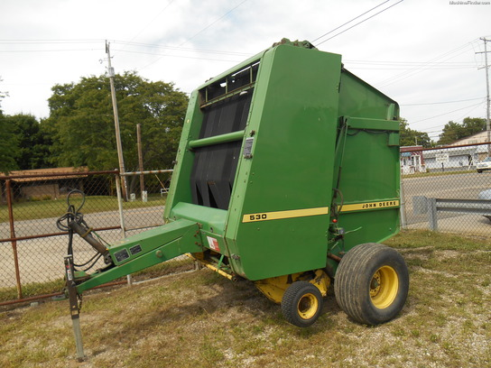 John Deere 530 Baler parts manual