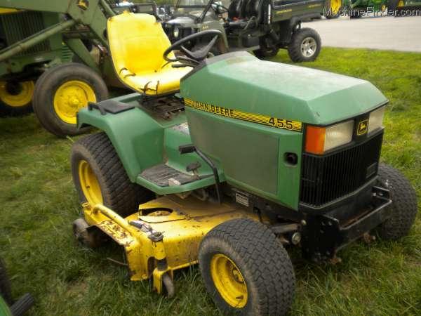 John Deere 455 Mower Parts : John deere lawn garden and commercial mowing