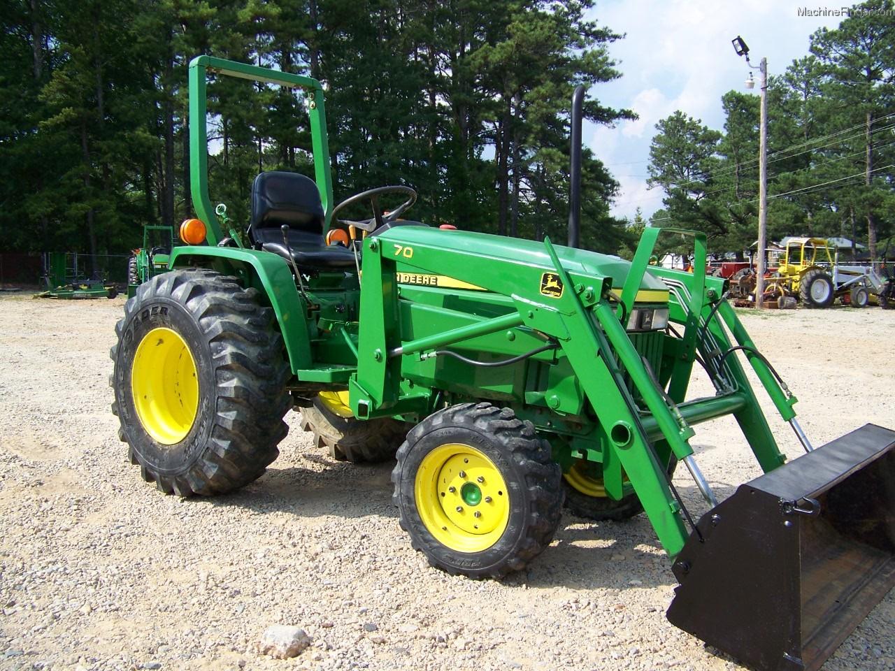 2002 John Deere 790 Tractors - Compact  1-40hp