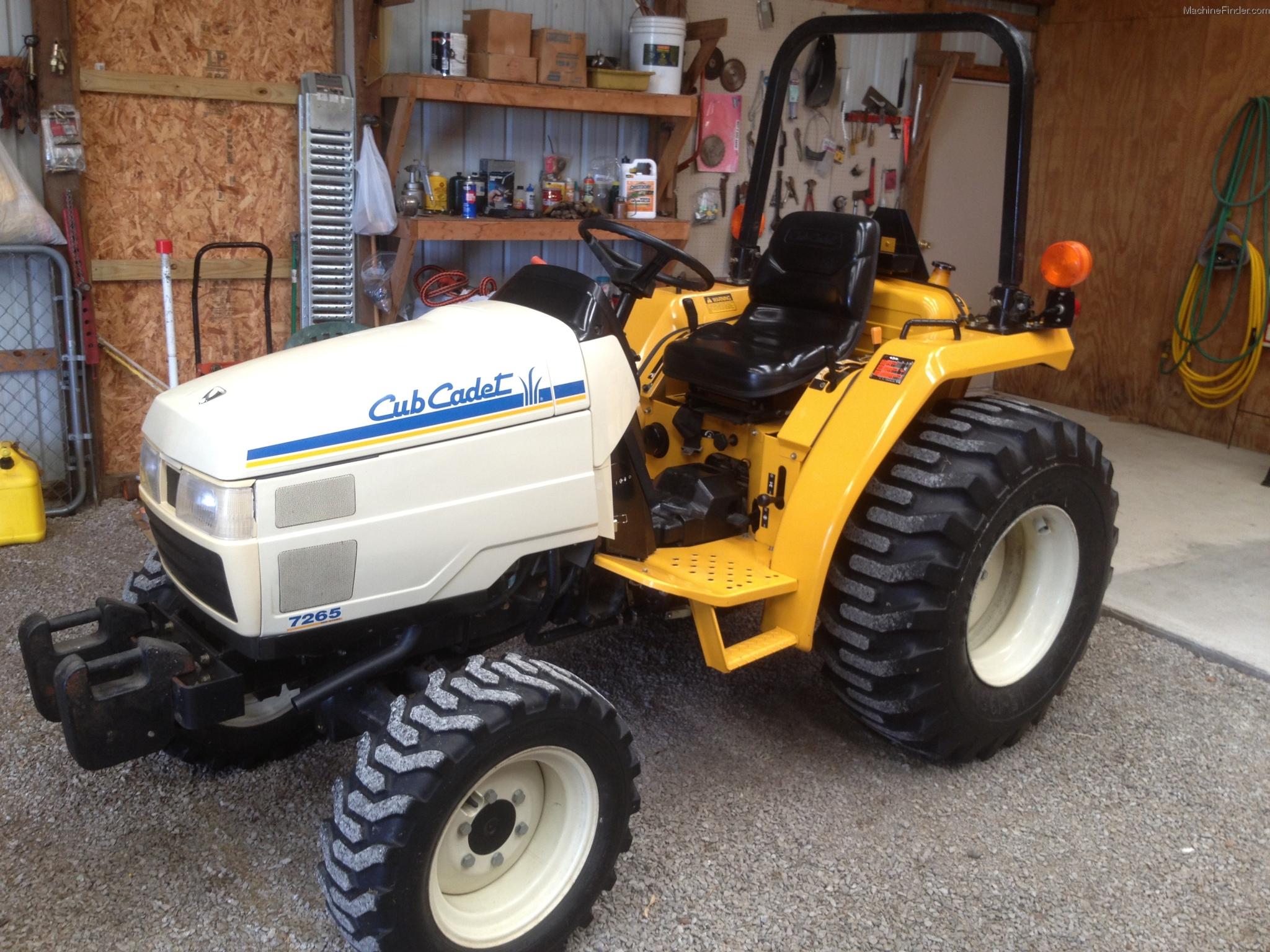 Cub Cadet Compact Tractors : Cub cadet tractors compact hp john