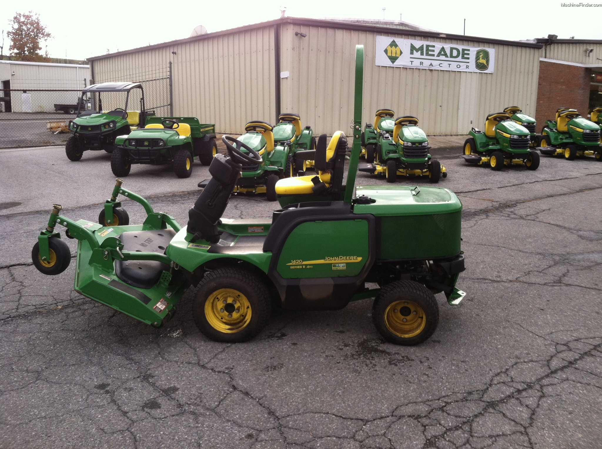 2011 John Deere 1420 Lawn Amp Garden And Commercial Mowing