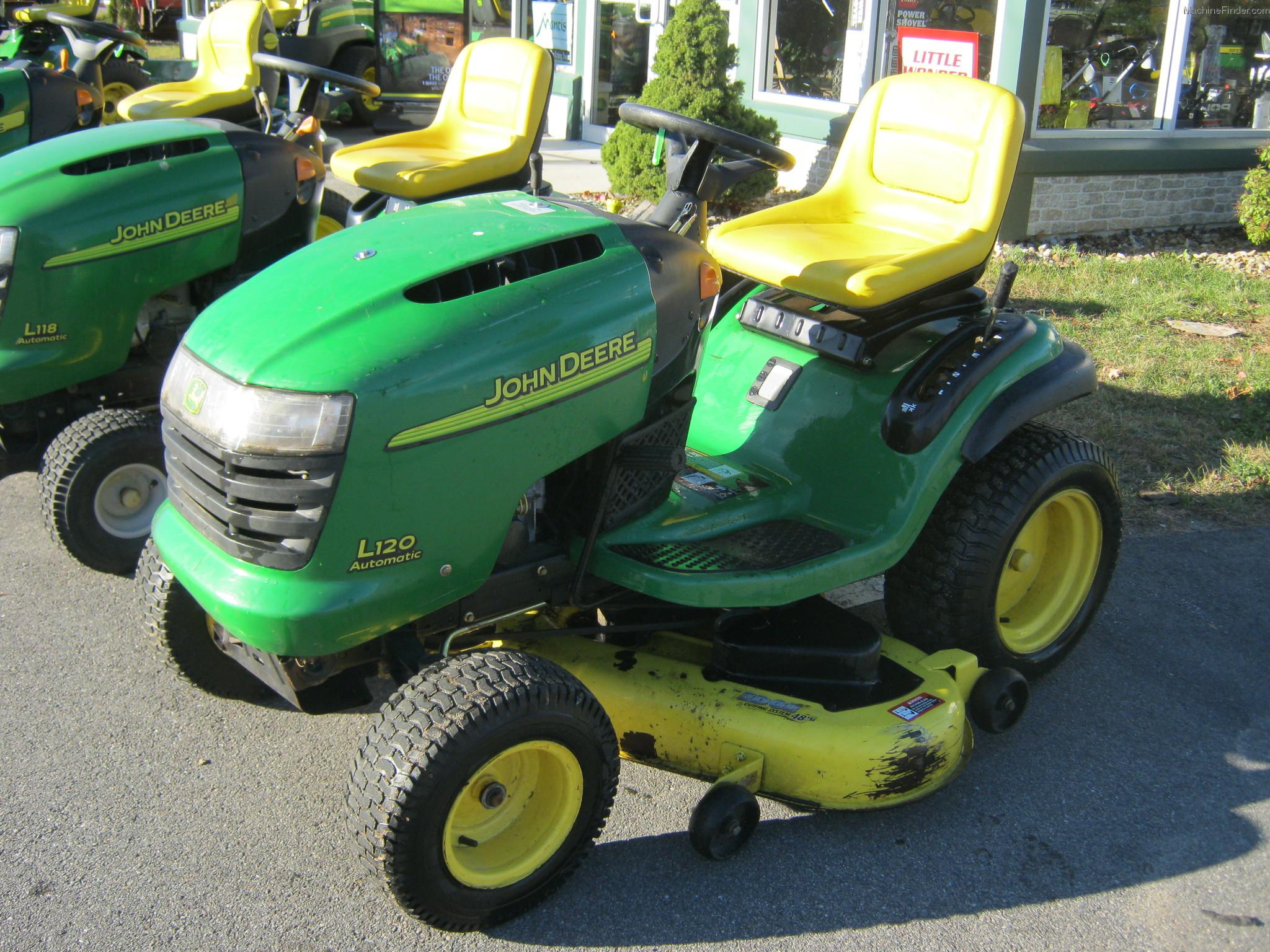 John Deere L120 Hydrostatic Transmission : John deere l lawn garden and commercial mowing