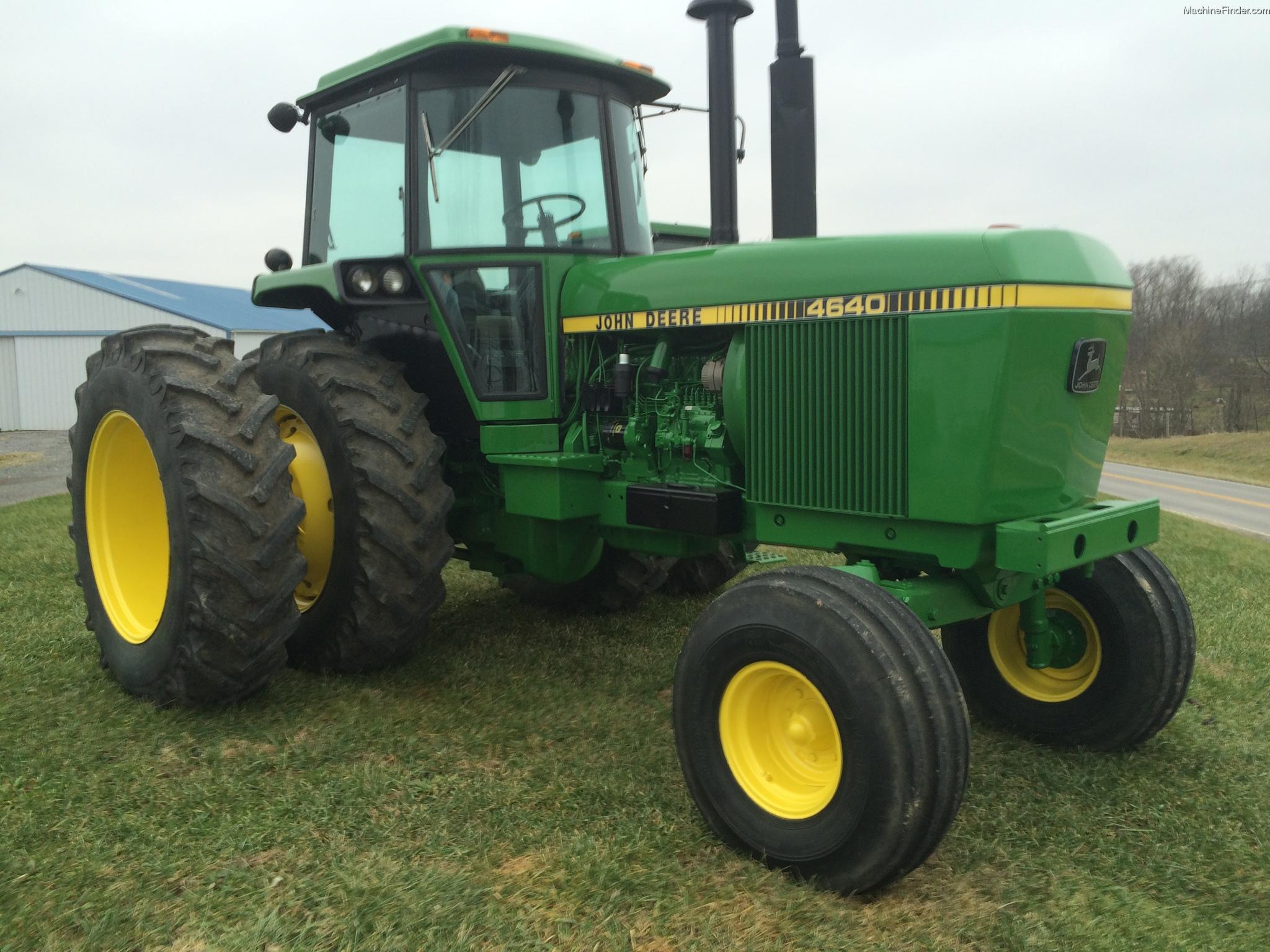 1980 John Deere 4640 Tractors - Row Crop   100hp