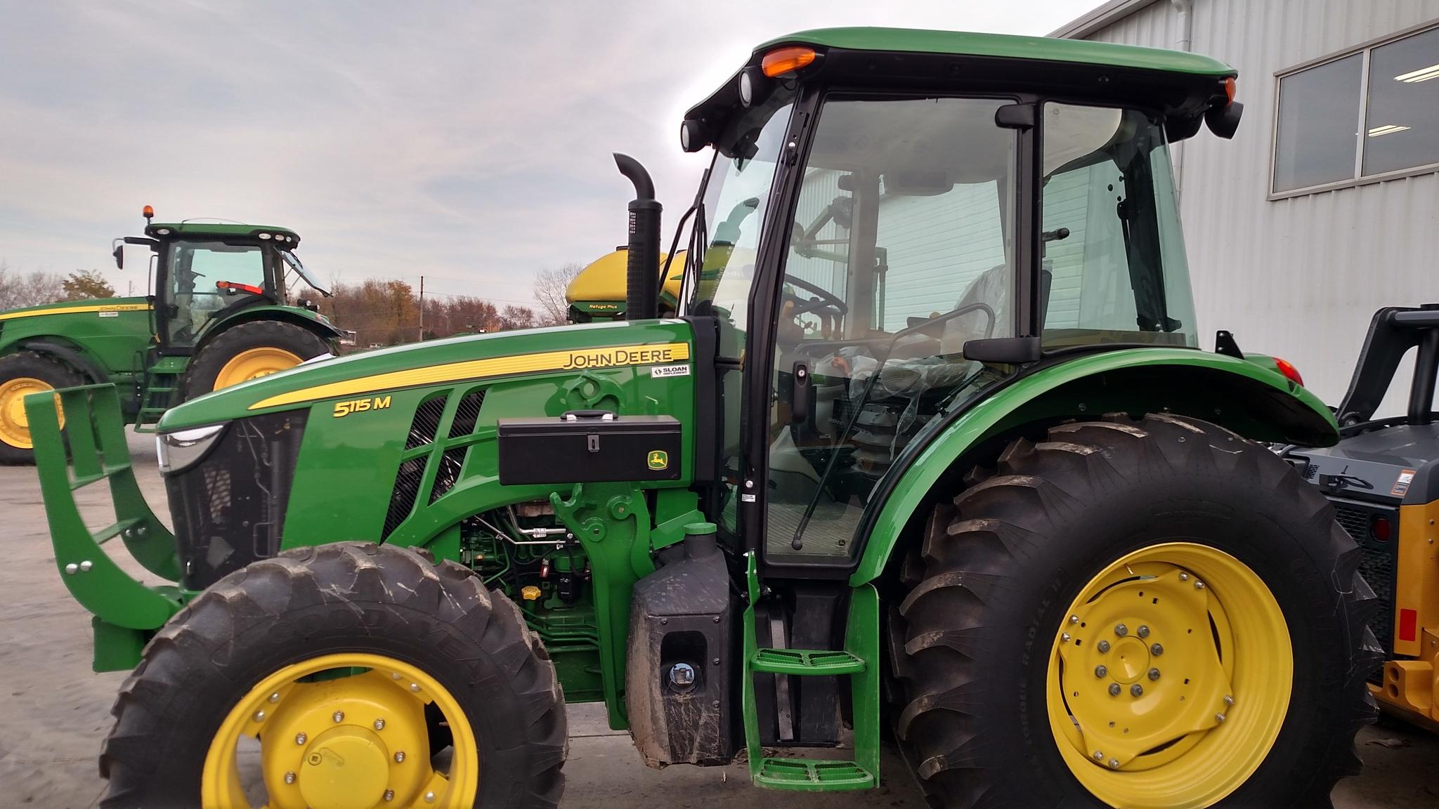 John Deere 6140d Specs : John deere m utility tractors for sale