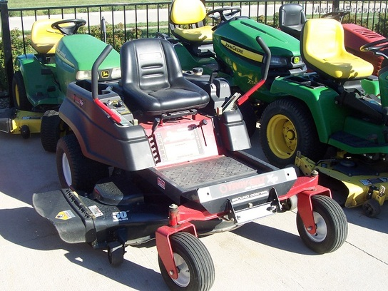 2008 Troybilt Mustang XP Zero-Turn Mower with 25hp Kohler engine and 50