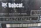 2008 Bobcat 323 Mini-Ex