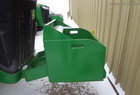 2009 John Deere HD ROCK BOX W/6 SLAB WEIGHTS