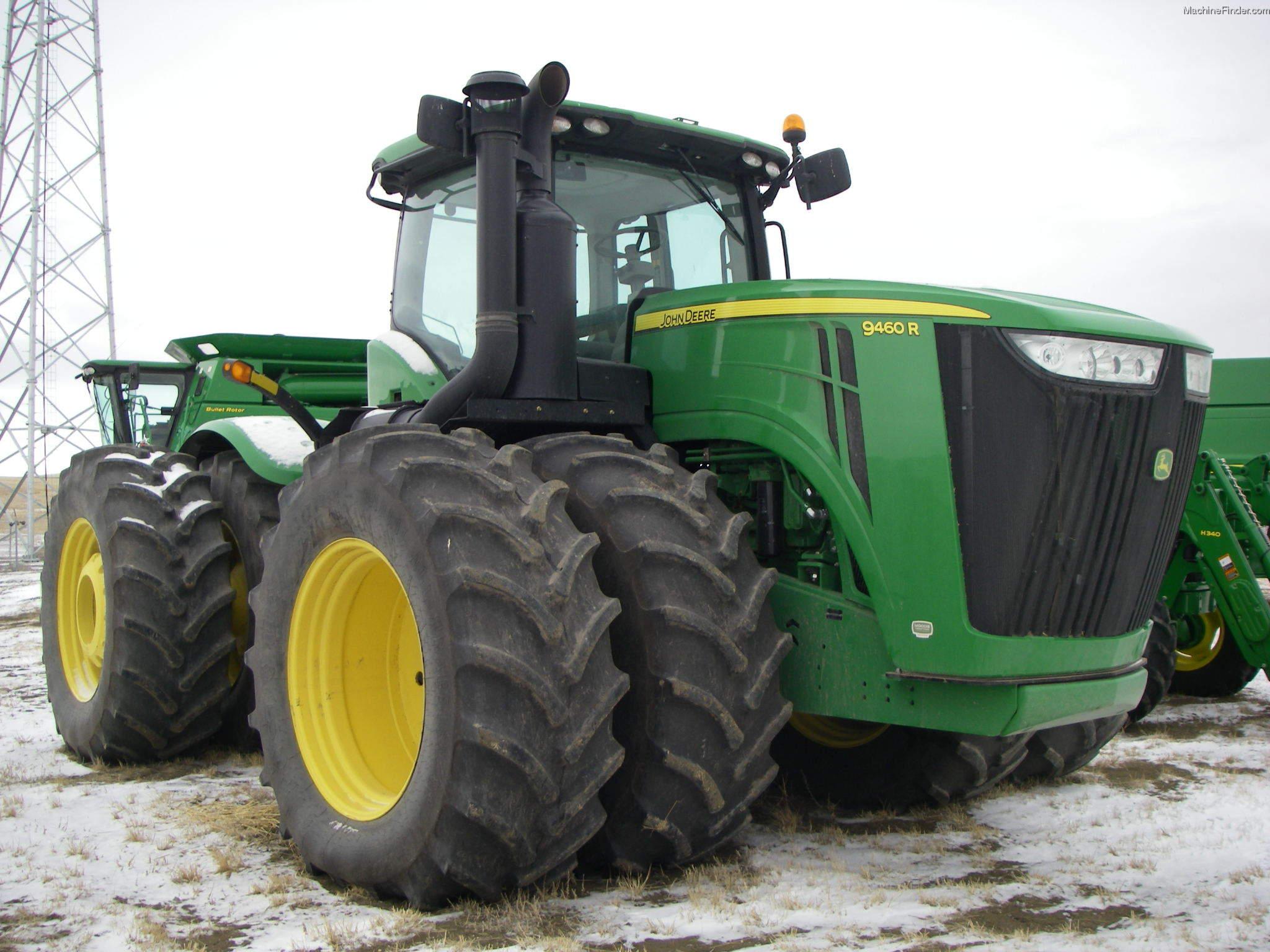 John Deere 400 Fenders : John deere r tractors articulated wd