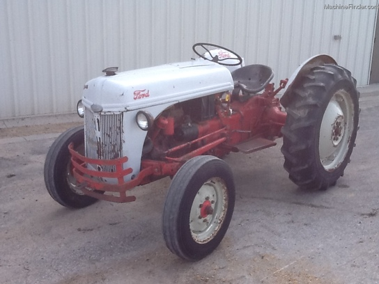 1950 Ford Tractor Tractor Vermilion : Ford n tractors utility hp john deere