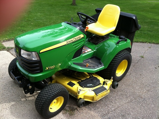 2010 John Deere X720 Lawn Amp Garden And Commercial Mowing