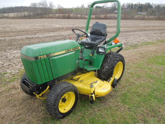 john deere 755 tractors utility 40 100hp john deere machinefinder. Black Bedroom Furniture Sets. Home Design Ideas